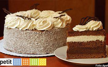 150 Kč (běžná cena 300 Kč) za celý dort o průměru 22 cm. Vychutnejte si Harlekýn, Pařížský nebo Kubánský dort z vyhlášené cukrárny Apetit. Skvělé pro oslavu s přáteli či rodinou!