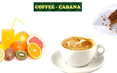 Espresso, fresh drink a dezert dle výběru za méně než 100 Kč!