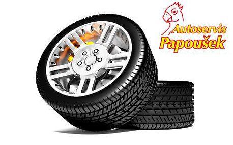 """369 Kč za kupon v hodnotě 740 Kč na přezutí pneumatik v Auto Papoušek! Kupon se vztahuje na vše od vyvážení po cenu všech závažíček. Nabídka je výhodná pro majitele kol 14"""" i 20"""", cena je stále stejná! Řidiči, je čas poslat zimní pneumatiky k šípku! Využi"""
