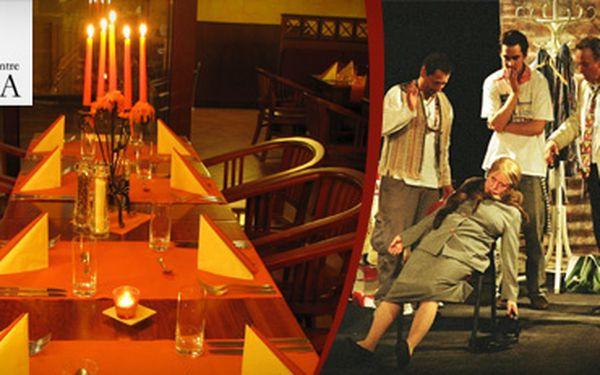 Nechte se pobavit komedií Tanec mezi vejci pražského divadla Metro a vychutnejte si romantickou večeři při svíčkách v luxusním hotelu Primavera se slevou 45 % jen za 449 Kč !! Stylový večer za neuvěřitelnou cenu !!