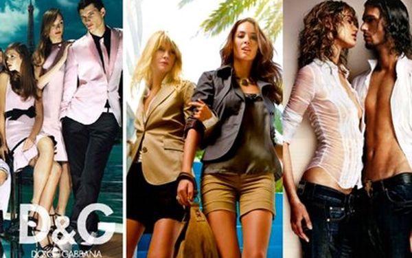 Jen 299 Kč za nákup světových značek oblečení přímo ve velkoskladu Family Outlet v hodnotě 600 Kč! Dolce Gabbana, Versace, Mexx, Benetton a mnoho dalších se slevou 50%!