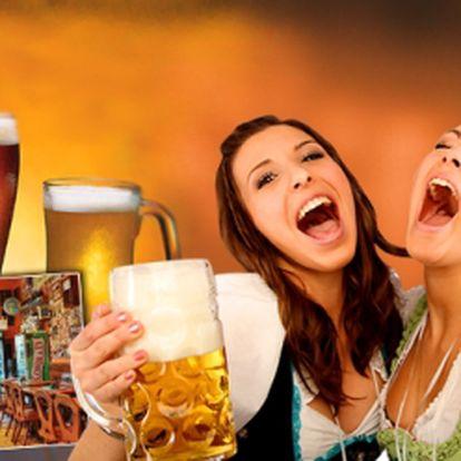 Máte rádi dobré jídlo? Nebo byste radějí vybírali z 31 druhů čepovaných piv? Jezte a pijte co Vám chutná až do výše 1000 Kč, a to jen za 299 Kč! Fantastická sleva 71%!