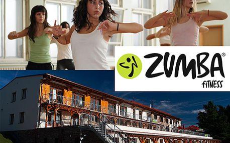 Zumba víkend na Lipně pro 1 osobu za pouhých 1800 Kč z původních 4500 Kč
