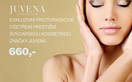 Jedinečná luxusní kosmetická péče s plátky zlata! Nechte zmizet Vaše vrásky pomocí švýcarské kosmetiky JUVENA jen za 660,- [Limitovaná nabídka pouze 100 poukazů]