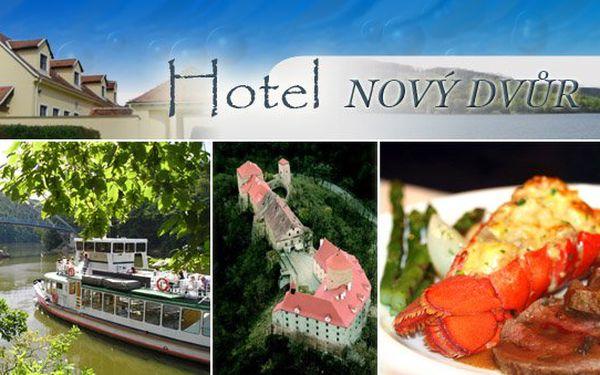 600 Kč za ubytování a večeři pro dva v útulném hotýlku u hradu Veveří. Krásy okolí Brna se slevou 52%