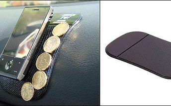 Neskutečných 49Kč (hodnota 139Kč) za revoluční nanopodložku! Vhodnou do auta, bytu nebo kanceláře. Nanopodložka představuje skok v inovaci materiálů. Je jedinečná svou schopností přilnout prakticky k jakémukoli povrchu. Unikátní protiskluzová podložka je