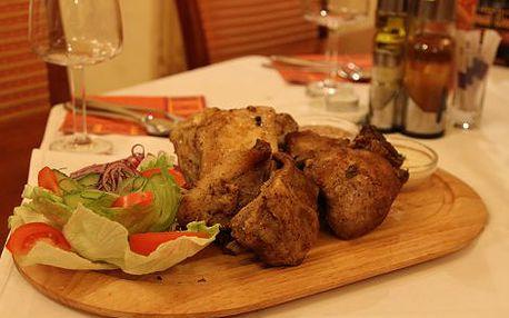 149 Kč místo 313 Kč za 1 kg marinovaných masitých vepřových žebírek s křenem, hořčicí, chlebem a zeleninovým salátem v restauraci Dnister v centru Prahy! Pravá domácí masová specialitka s více než 50% slevou!