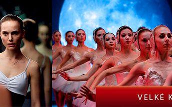 Jen 59 Kč za čerstvě oceněný Oscarový film ČERNÁ LABUŤ.*Skvělý výkon Natálie Portman jako baleríny v New Yorské opeře. Vřele doporučujeme.