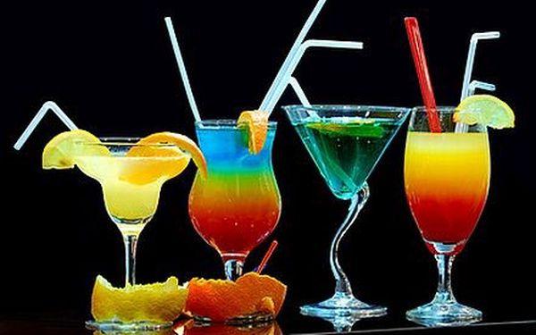 Jen 188,- Kč za 4 skvělé koktejly dle vašeho výběru v srdci Brna.