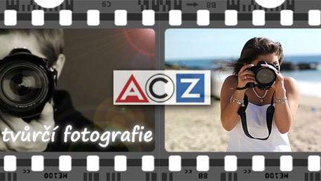 Je fotografování Vaším koníčkem? Máte pocit, že by Vaše fotografie mohly být ještě lepší, ale nevíte jak na to? Pak je Vám kurz Tvůrčího fotografování šitý přímo na míru! Neváhejte, k dispozici je pouze 10 volných míst!
