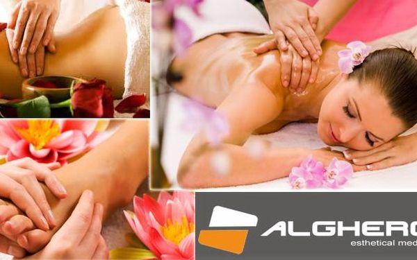Užijte si 120 min. masáž CELÉHO TĚLA pro maximální regeneraci a celkovou relaxaci. Skvělá cena 690 Kč se slevu 56% v luxusním Salonu Alghero, přímo v centru Prahy.