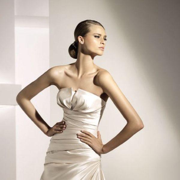 Výjimečné, luxusní, svatební šaty Haiti od světoznámé španělské značky Pronovias