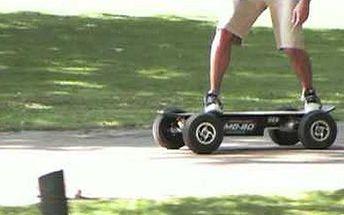 To tu ještě nebylo - skateboardy na dálkové ovládání! První půjčovna elektrických skateboardů v Praze na Střeleckém ostrově nabízí 10-ti minutové ochutnávací jízdy. Instruktáž, jak se skateboard ovládá je v ceně. ABS brzdy (sleva 50%).