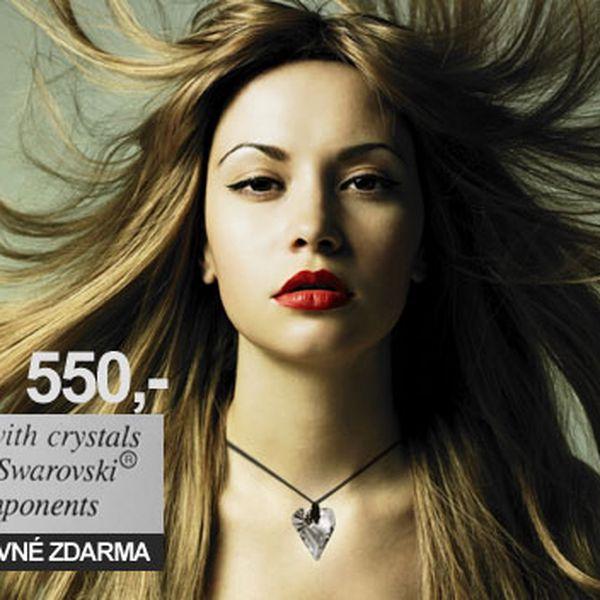 Limitovaná speciální nabídka náhrdelníku + naušnice - Crystals from Swaroski Compotents s 55% slevou, pouze za 550,- [pouze 55 kusů] POŠTOVNÉ ZDARMA