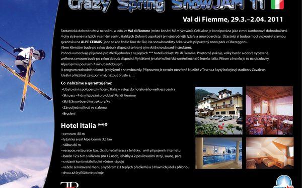 5900 Kč za italské Dolomity - Crazy SnowJam'11 v hodnotě 10150 Kč