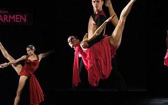 280 Kč za dvě vstupenky na moderní balet Carmen v Národním divadle v Brně. Extravagantní taneční figury a působivé kostýmy s 50% slevou.
