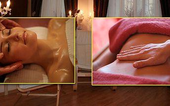 Skvělý zážitek v délce 75 minut. Výběr masáže dle vlastního přání! Úžasné spojení blahodárných účinků masáže s požitky smyslů! Relaxujte a regenerujte!