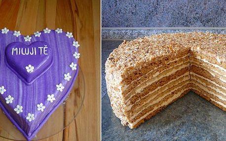 Sladkosti že jsou neřest?! Nesmysl! Oslaďte si život aspoň jedním ze čtyř úžasných dortů! Jedinečná cena zahrnuje i rozvoz v rámci celého Česka!