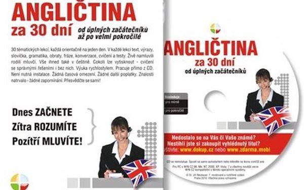 Jen 129 Kč za 3 výuková CD Angličtina nebo Němčina za 30 dní! Unikátní metoda, skvělé výsledky – poštovné máte v ceně!