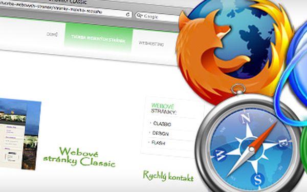 Internetové webové stránky s masivní slevou 75 % za skvělých 2 900 Kč!! Webové stránky jsou v dnešní době informačních technologií základem úspěšného podnikání!! Nebuďte pozadu, dejte o sobě vědět a využijte drtivé slevy!! S námi ušetříte 8 500 Kč!!