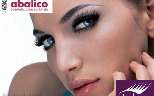 Luxusní 70% sleva na krásné, dlouhé a husté řasy od studia Abalico. Pouze 1050 Kč za prodloužení řas.