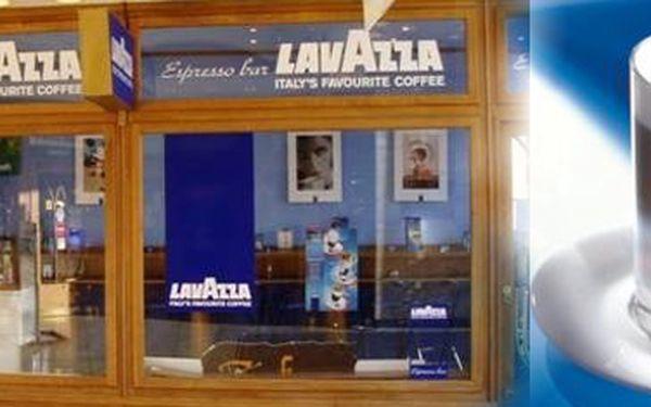 Neváhejte a kupte si kartičku do LAVAZZA CAFÉ V OBCHODNÍM DOMĚ BREDA na 10káv za super cenu 138Kč! (Latté, Cappuccino, Espresso) Sleva 54%!