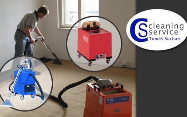 Koberec jako nový, po kterém bude radost chodit, díky čištění koberců od firmy Cleaning Service – 1 m2 nyní jen za 15 Kč. Ušetříte až 40% za vyčištění koberce.