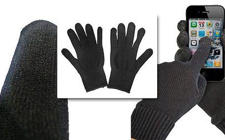 Ovládejte dotekový mobil pohodlně i v zimě! Speciální rukavice, vodivé jako lidská pokožka, Vám to snadno umožní! Chlad již nikdy více nebude problém!