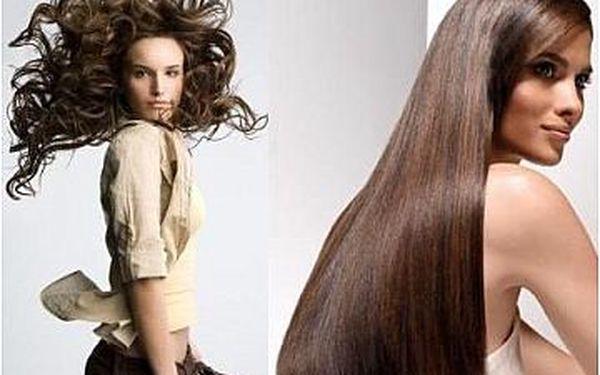 Barvení vlasů, střih, mytí, regenerační zábal, foukaná a styling jen za 444 Kč!