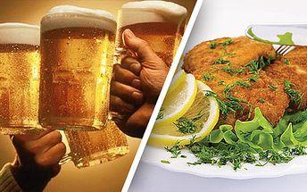 Slevová pecka! Pouhých 299 Kč místo 1200 Kč za konzumaci jídla a pití v restauraci SVĚT PIVA! Objednejte si cokoli z jídelního a nápojového lístku včetně 31 druhů točených piv s úžasnou slevou 75%.