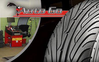 Jarní výměna všech 4 kol (plechové nebo alu disky) se slevou 50 % za fantastických 75 Kč nebo přezutí 4 pneumatik s vyvážením také s 50% slevou za 349 Kč!! Mějte vůz v pořádku a nakupujte s námi za poloviční ceny!!