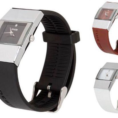 299 Kč místo 499 Kč za designové hodinky SINOBI. Elegantní doplněk s kvalitním hodinkovým strojkem Quartz a příjemným odolným silikonovým páskem s 40% slevou! Na výběr v černé, hnědé a bílé barvě!