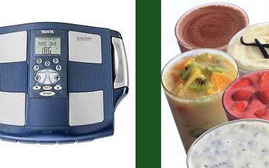 Změřte si tuky na tělesném analyzátoru TANITA BC545 a ochutnejte lahodný a zdravý koktejl.