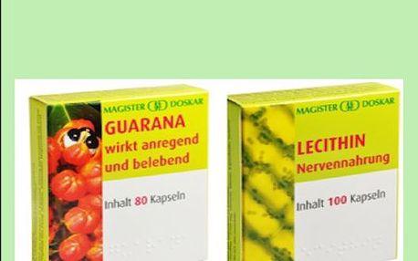 Podpořte mozkovou činnost s Lecitinem a Guaranou za pouhých 188 Kč z původních 314 Kč