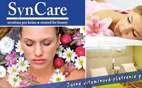 12€ za jarné vitamínové ošetrenie pleti. Povrchové čistenie, relaxačná masáž tváre a dekoltu, vitamínové sérum, ultrazvuk, kolagénová maska, teraz so 60% zľavou!