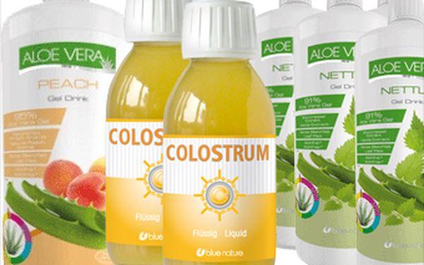 Dbejte o své zdraví. Aloe vera gel pouze za 269 Kč nebo colostrum direct za 399 Kč. Neváhejte a investujte do svého zdraví.