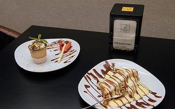 Za pouhých 69 kč získejte exkluzivní značkové italské espresso se studenou čokoládou, mátovou pěnou, čokoládovými hoblinkami, mátovými lístky, čokoládovým posypem a k tomu 2ks domácího jablečného závinu s vanilkovou omáčkou a čokoládovým sirupem!