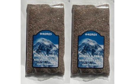 50% Dopřejte si relaxaci a očistu, při domácí koupeli v pravé čisté černé koupelové soli z vulkánu v Himalájích! Nyní se slevou jen za pouhých 149 Kč za dvě půlkilová balení!
