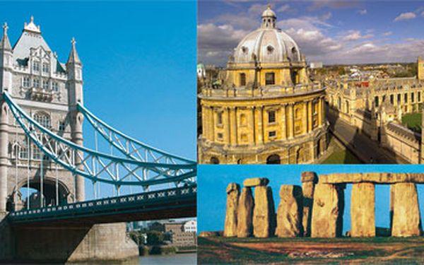 Londýn a okruh střední Anglií - poznávací zájezd 24.5.2011 - 29.5.2011 autokarem, zajímavá cena za skoro týden nevšedních zážitků po Británii, poznáte nejzajímavější místa i bez znalostí angličtiny.