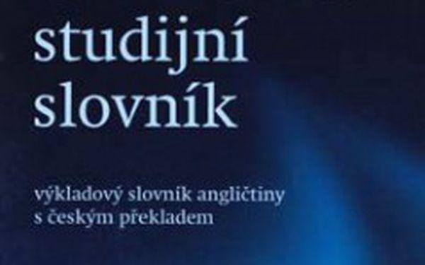 Oxford studijní slovník - česká edice Oxford Student's Dictionary.