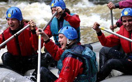 ALL INCLUSIVE celodenní rafting na Moravici za odvážných 1287 Kč!