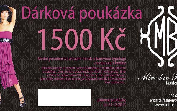 Pouhých 999 Kč za poradenství Vaší image v hodnotě 1500 Kč.