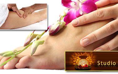 Uvolňující a relaxační masáž nohou a chodidel! Blahodárné účinky na cirkulaci krve a problémy s celulitidou! Navíc obdržíte ošetření skořicovým gelem nebo peeling ZDARMA!