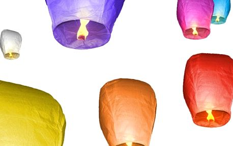 POZOR SOUTĚŽ !!! Získejte zcela ZDARMA 10 kusů EKO lampiónů štěstí v ceně 500 Kč