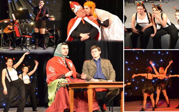 Kulturní společnost Alta a taneční divadlo Na tenkém ledě doprovázené hudební skupina Aquarel Mildy Bůrky Vás zve na představení plné scének, hudby a tance..Neváhejte a pojďte si zpříjemnit čtvrteční večer s námi za pouhých 70Kč!!!