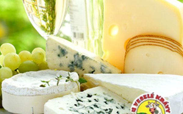 45% sleva na kompletní sortiment holandských sýrů v prodejně Holandské sýry U VESELÉ KRÁVY. Nakoupíte za 200,-Kč a zaplatíte jen 110,-Kč.