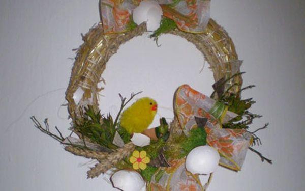 Svátky jara se kvapem blíží. Objednejte si už dnes velikonoční výzdobu s 56% slevou.