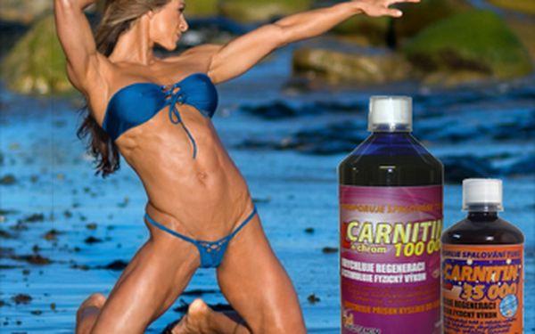 Hubnoucí balíček se slevou 41 %. Za pouhých 356 Kč pro Vás máme L- carnitin 100 000 s chromem 1l (Protamin) + L-carnitin 35 000 s chromem (Biotech). Tak neváhejte a pochlubte se svým novým krásným tělem.
