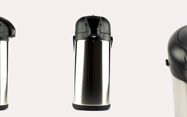 Termoska - 2,2 litru s pumpičkou a dvojitým nerezovým pláštěm s 50% slevou!