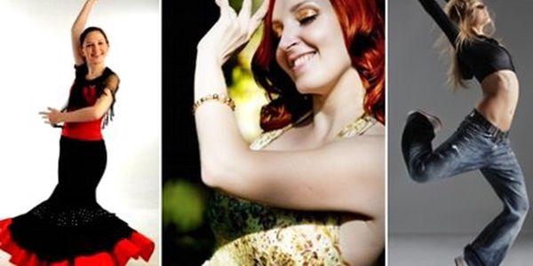 Jen 160 Kč za 3 lekce libovolného tance nebo fit class ve studiu FoxFit! Vyzkoušejte Flamenco, Funky Aerobic, Power Jógu, orientální tance a mnoho dalšího!